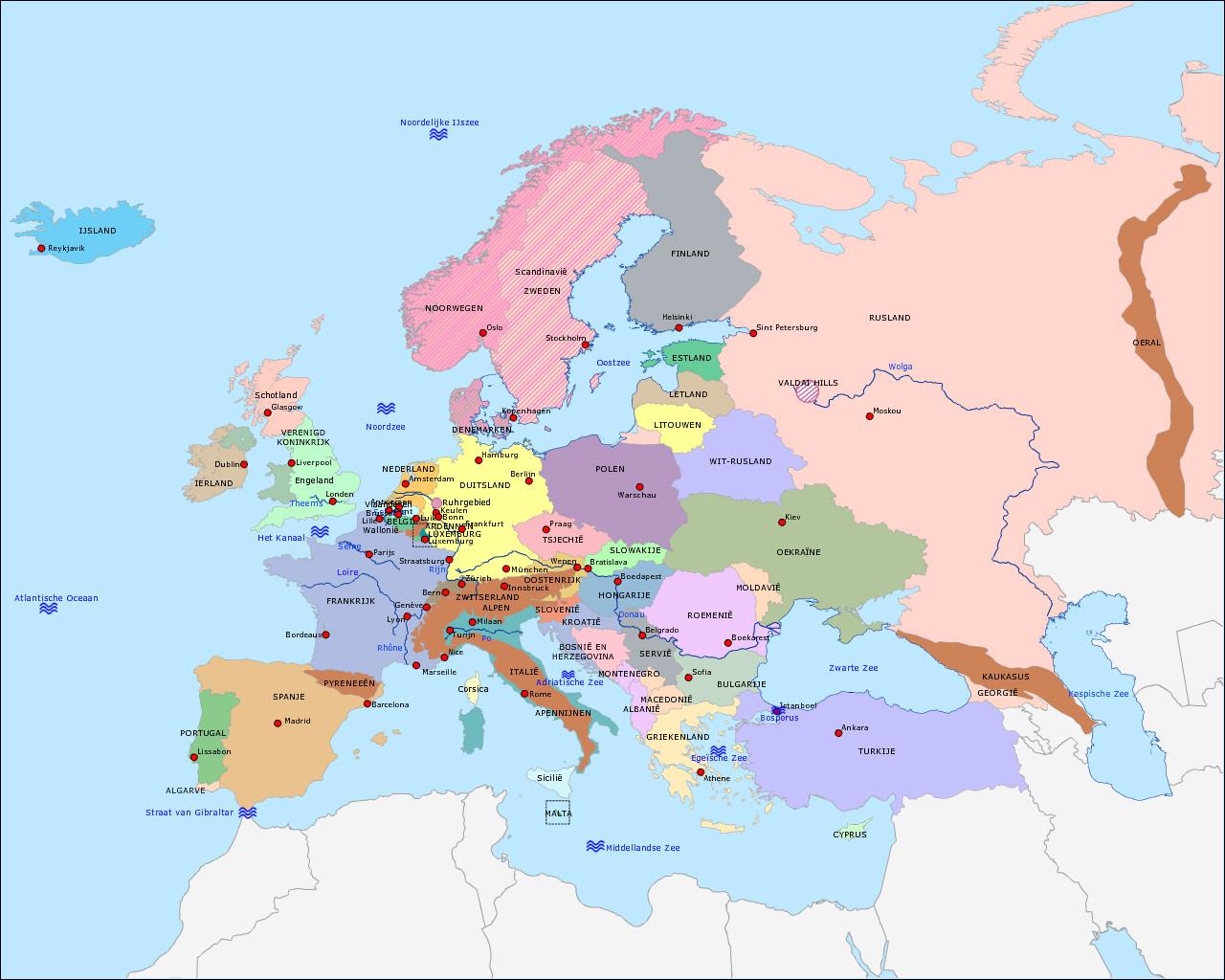 Ik ben 99,9% Europees
